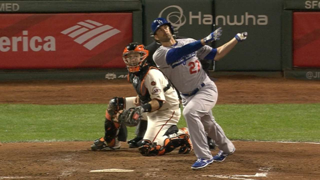 Dodgers go back-to-back in 6th