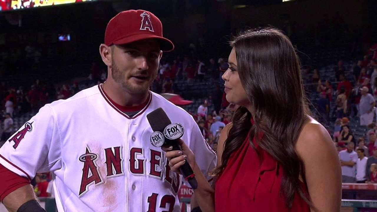 Giavotella on Angels' win
