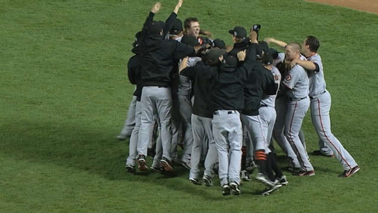 Fresh 15: MLB's no-repeat streak a record