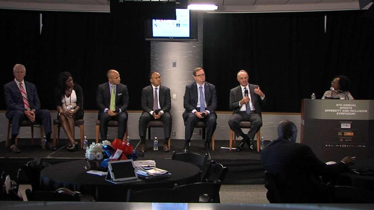 Sports Diversity Symposium panel