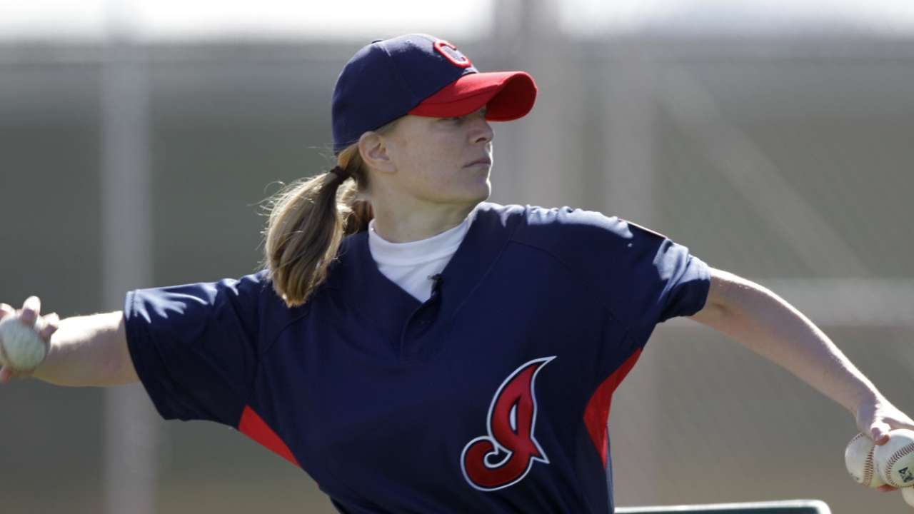 A's hire first female coach in MLB history