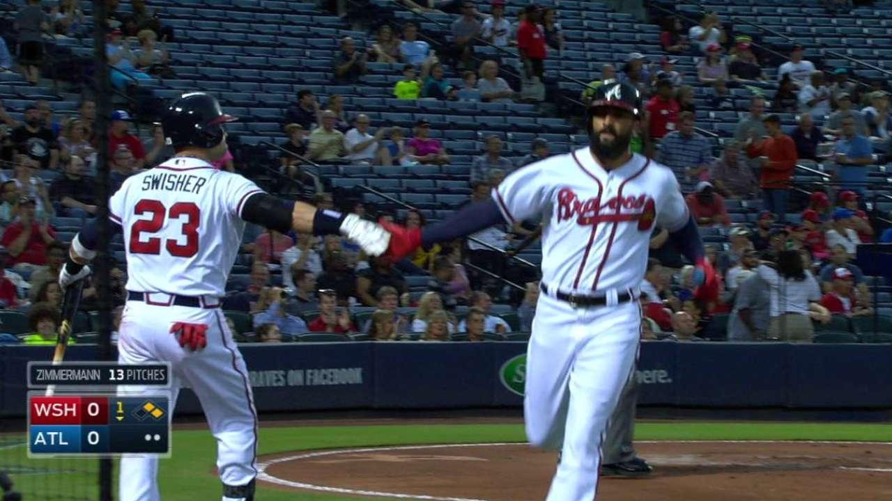 Perez, Braves silence Nats to take series