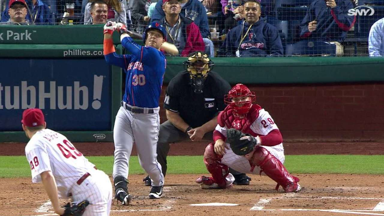 From early age, Conforto flashed potential