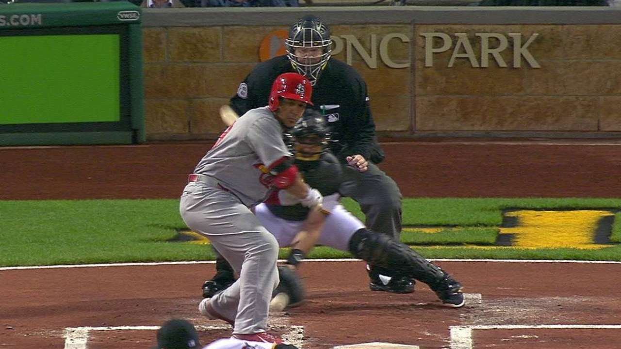 Jay hit-by-pitch upon replay