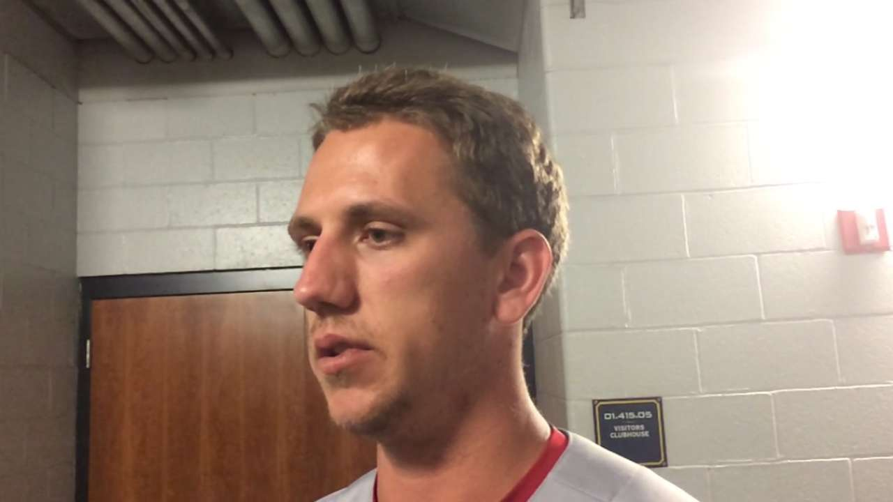 'Fortunate' Piscotty returns to Cards' dugout