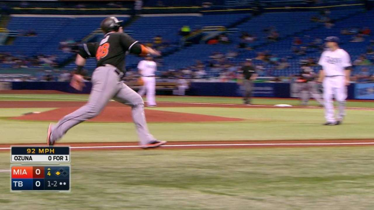 Ozuna looking to build on strong September