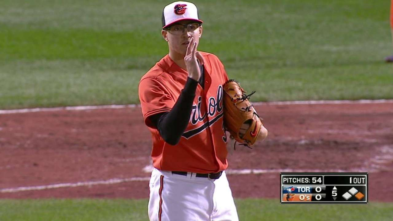 Gausman sets new career high