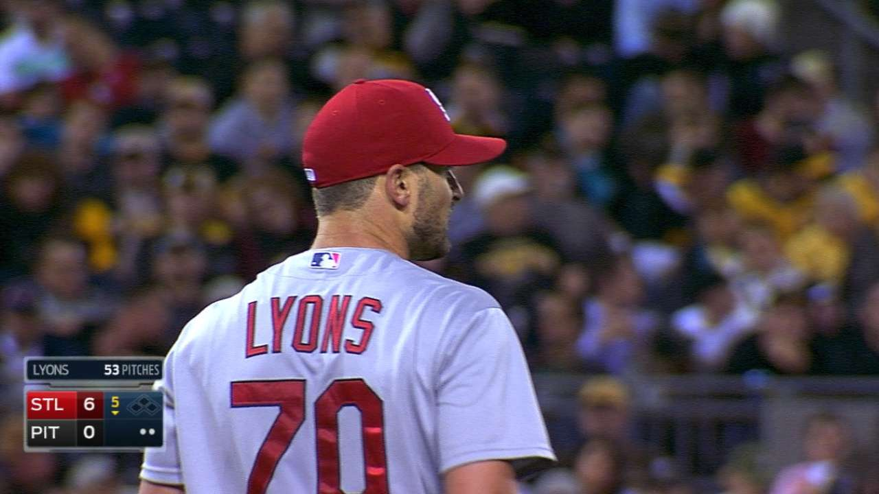 Lyons pitches seven scoreless