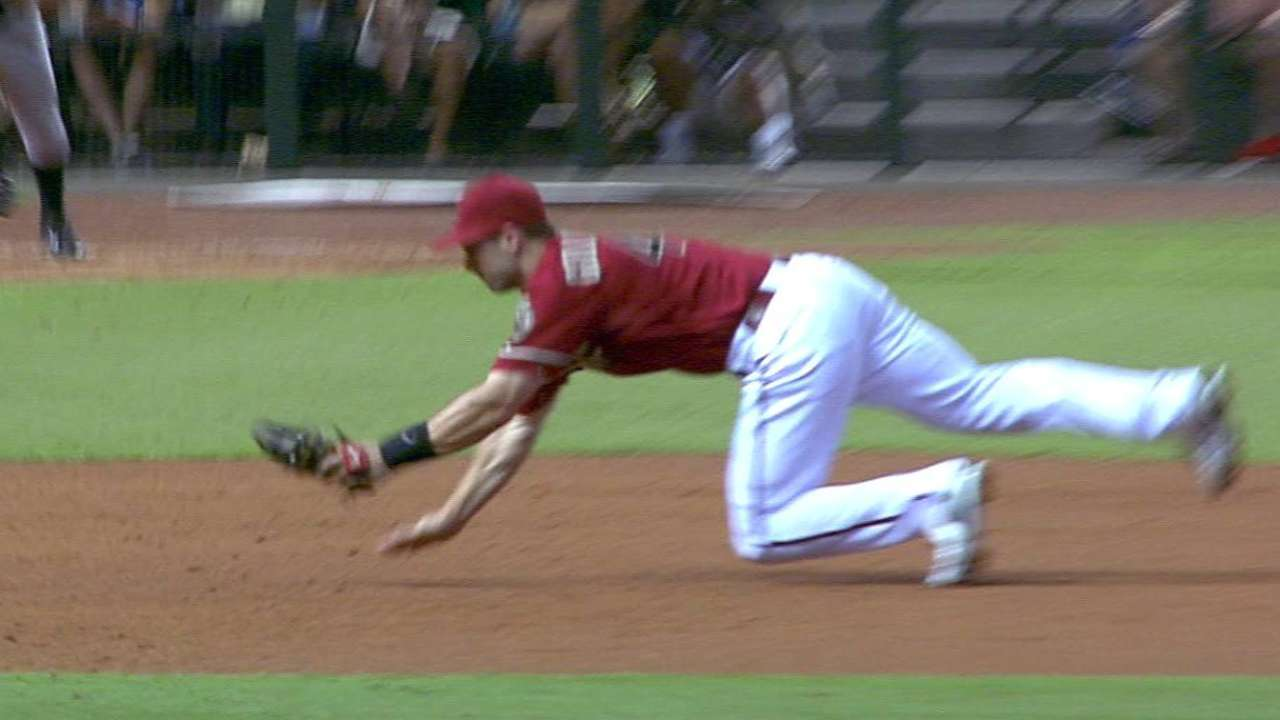 Goldschmidt flashes the leather