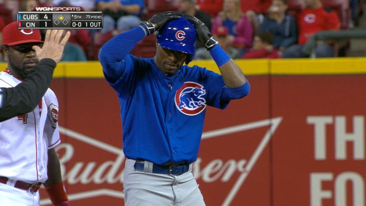 Cubs rout Reds; keep heat on Bucs in WC race