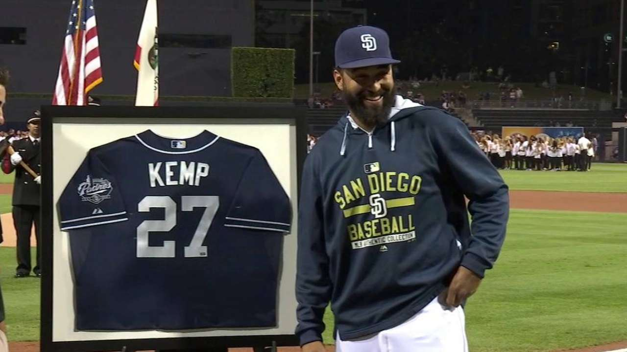 Kemp honored for his cycle