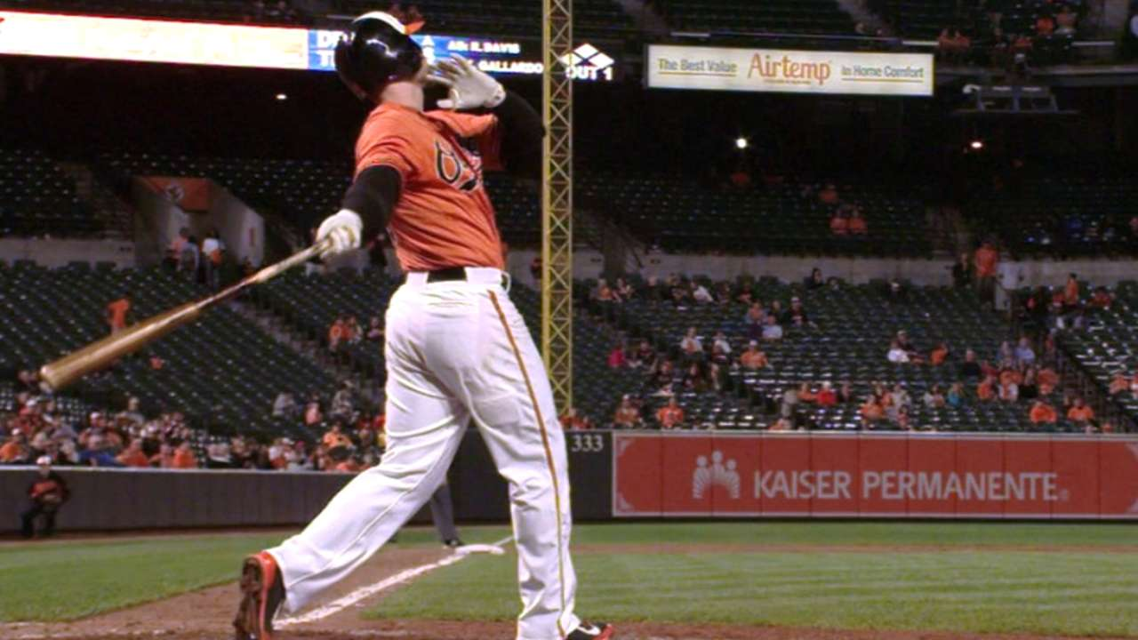 Davis' two-homer game