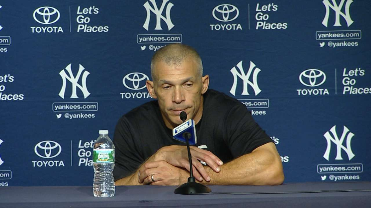 Yankees lament missed chance to clinch spot
