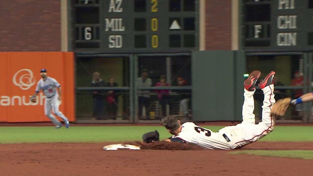 Dodger challenge overturns call