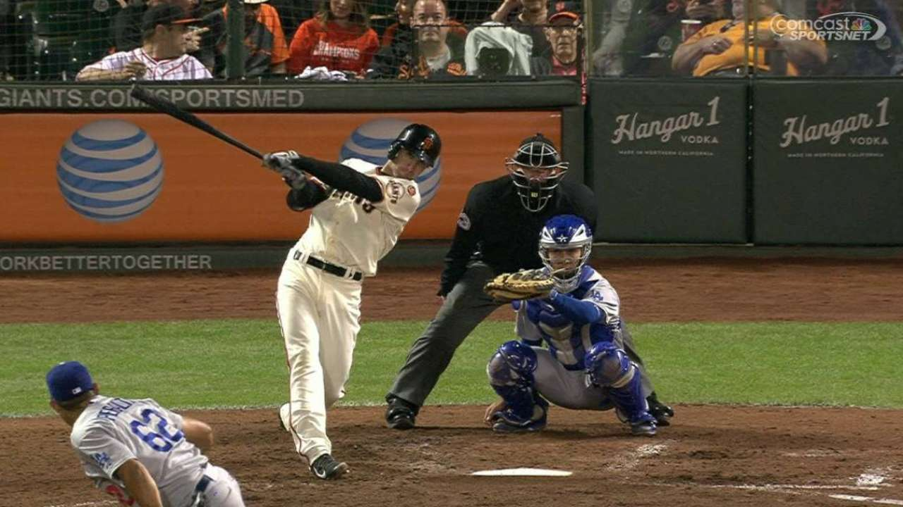 Noonan's first career home run