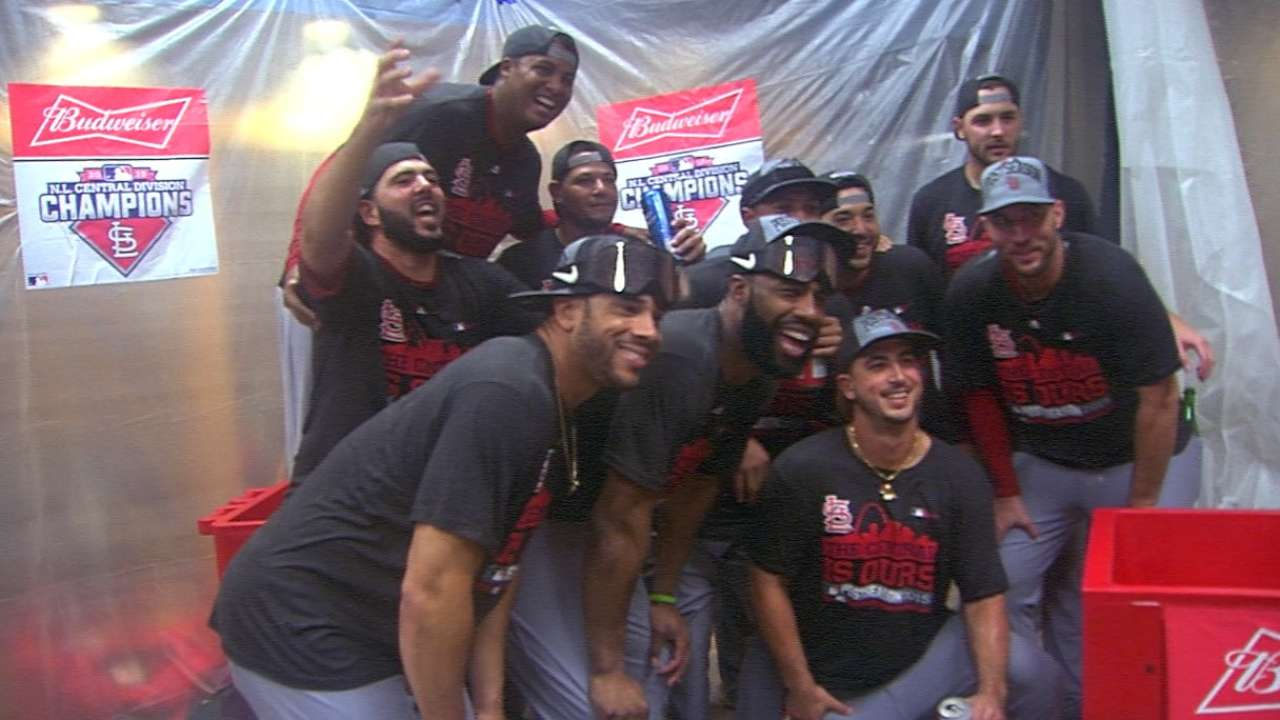 15 for '15: NL Central trio displayed dominance