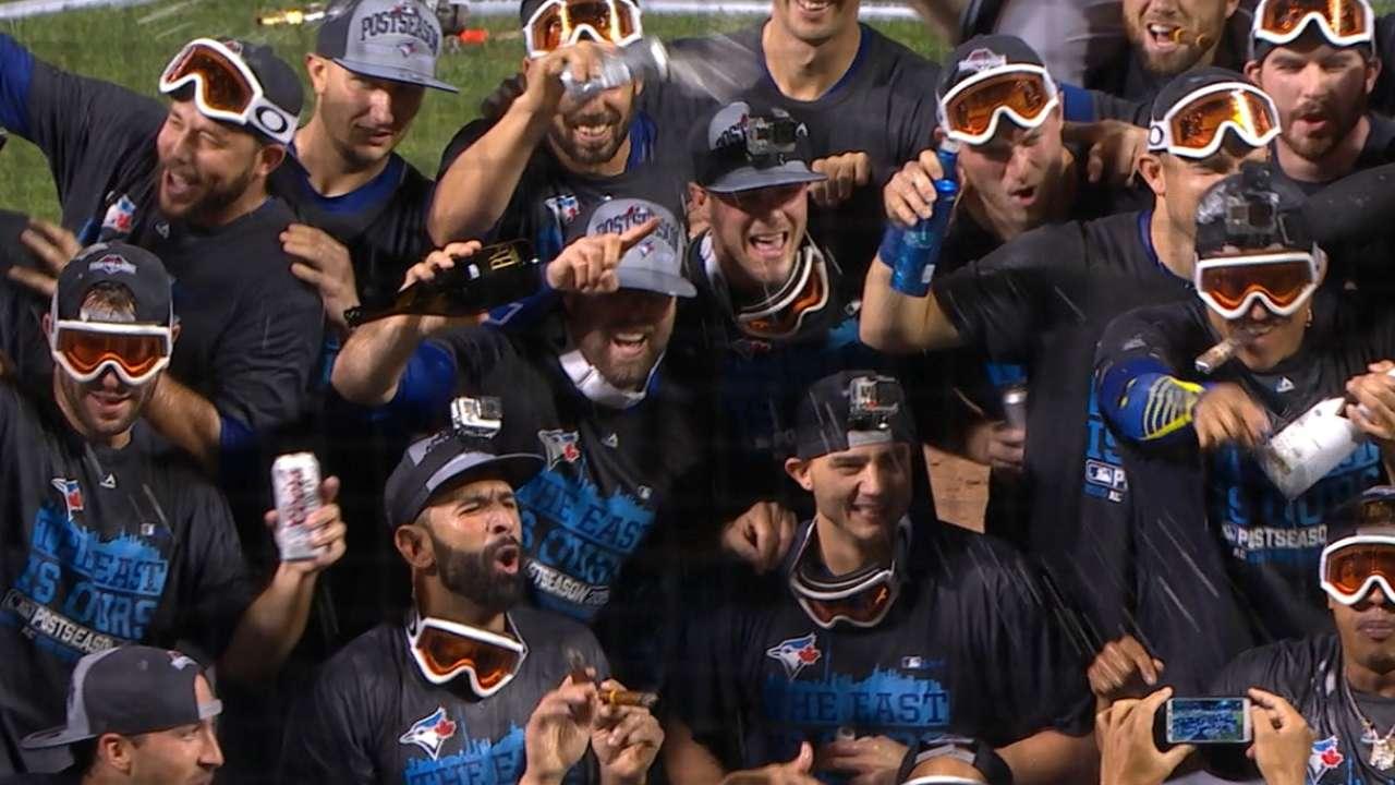 Celebration worth the wait for confident Blue Jays