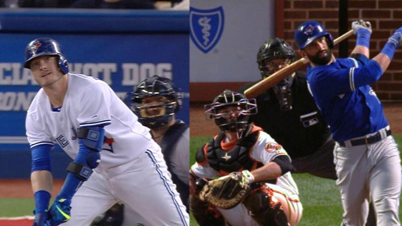 Two Blue Jays reach 40 home runs