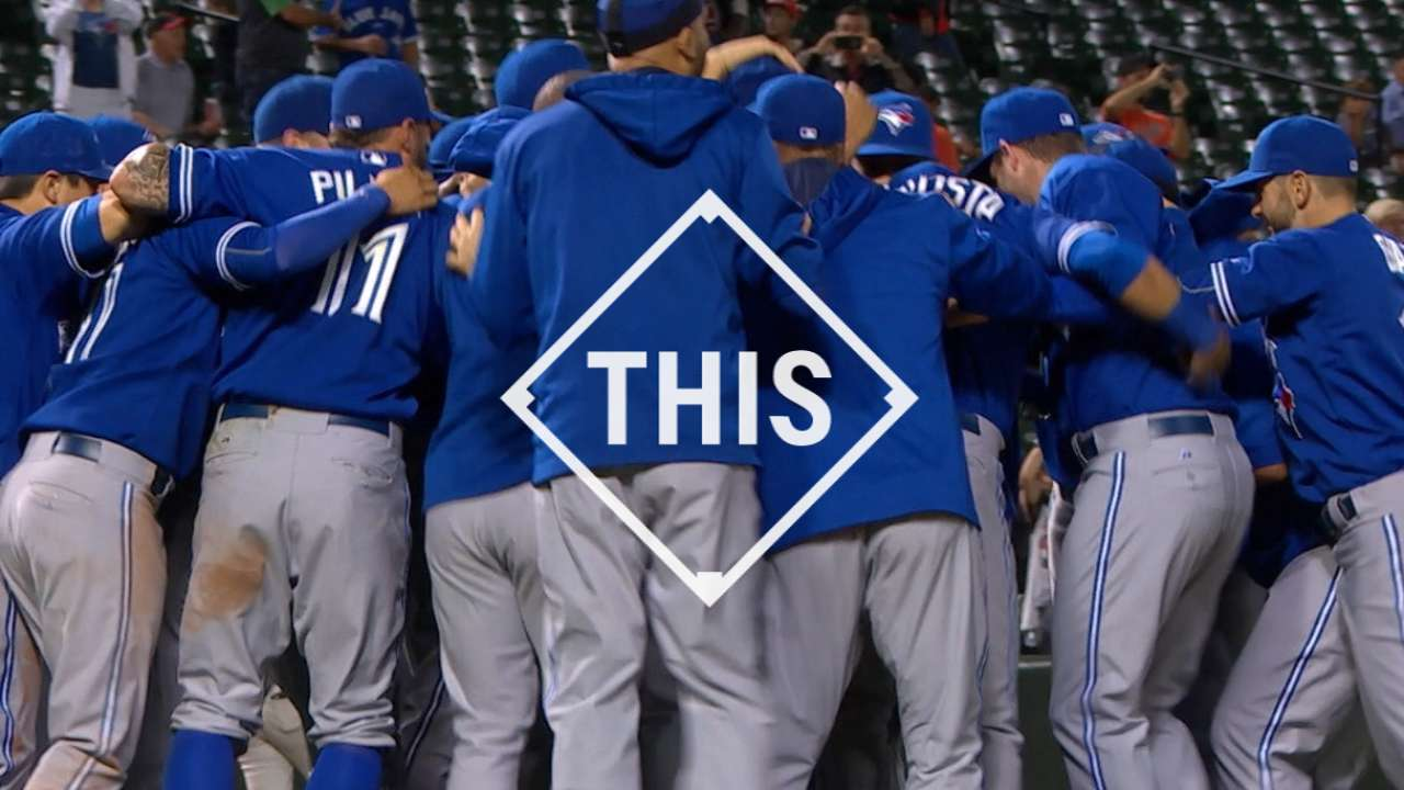 Blue Jays head home for ALDS with Rangers