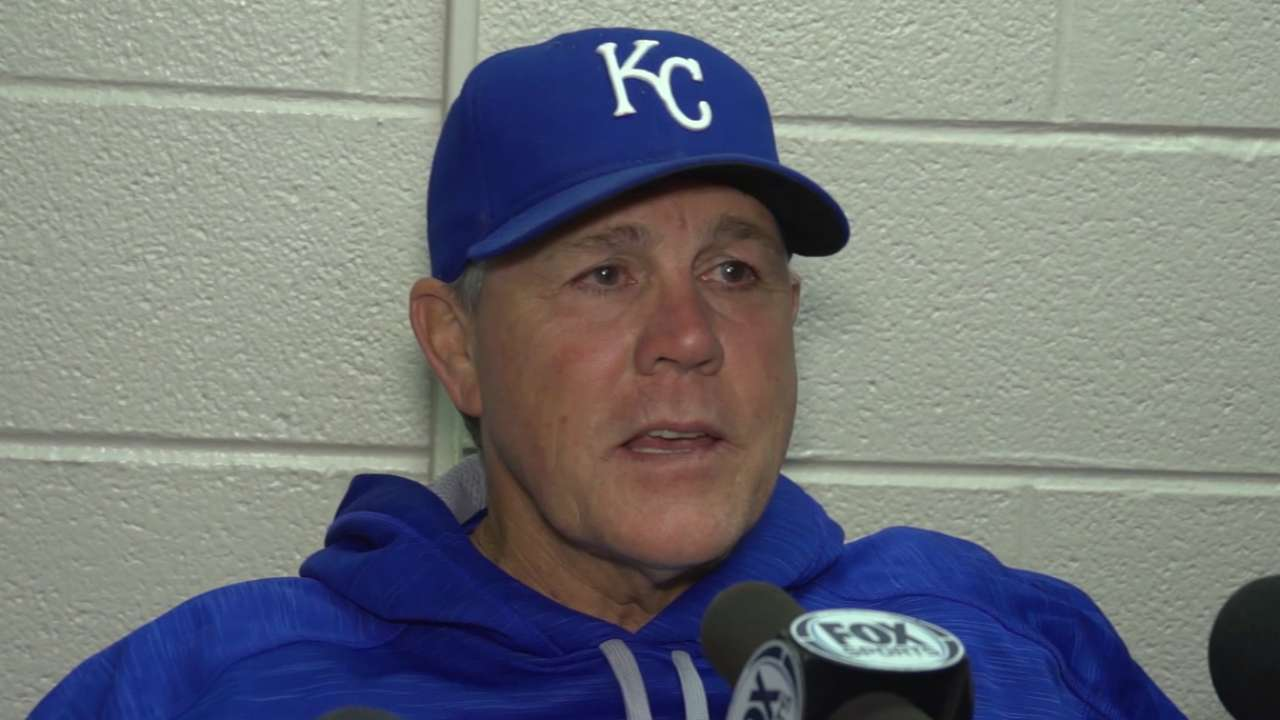Yost on Hosmer, Cain's knee