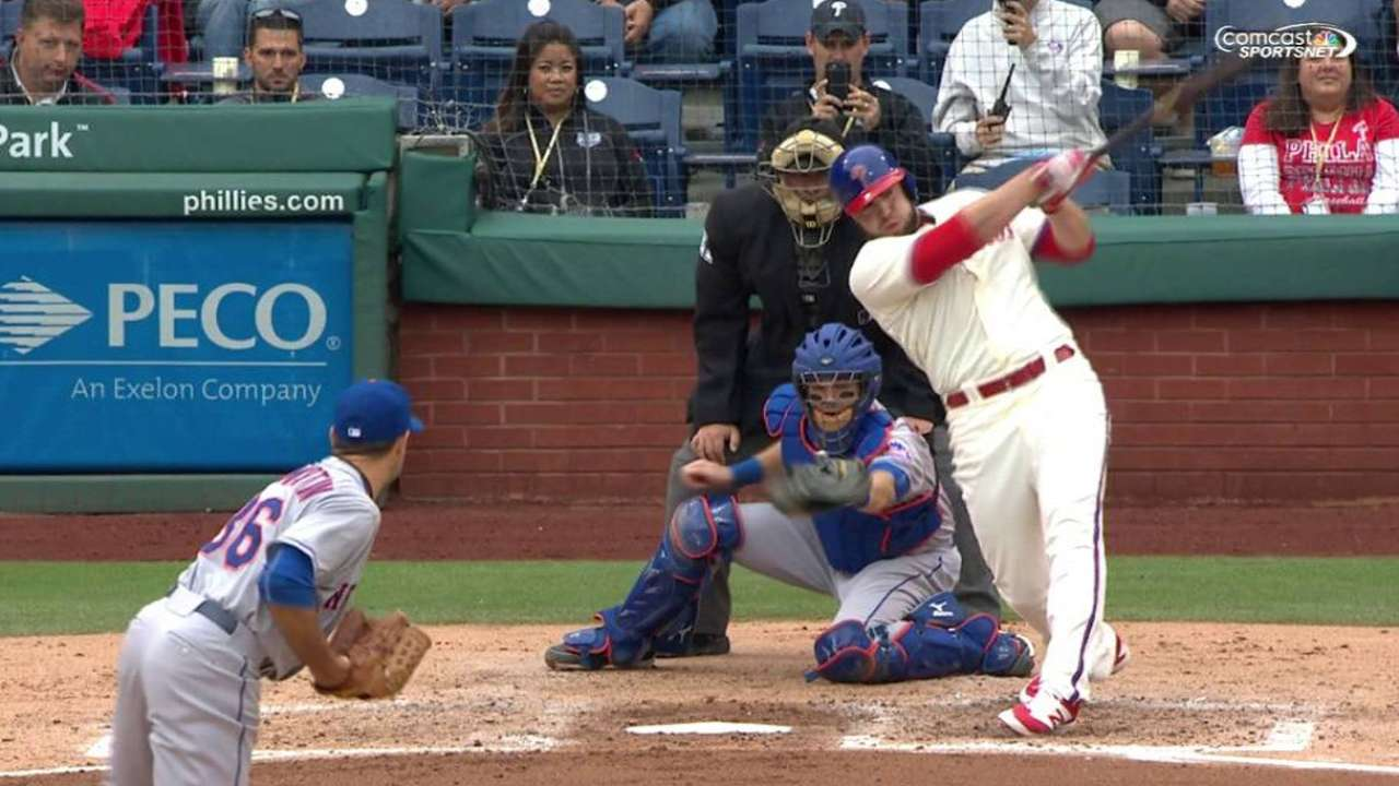 Ruf's two-run home run