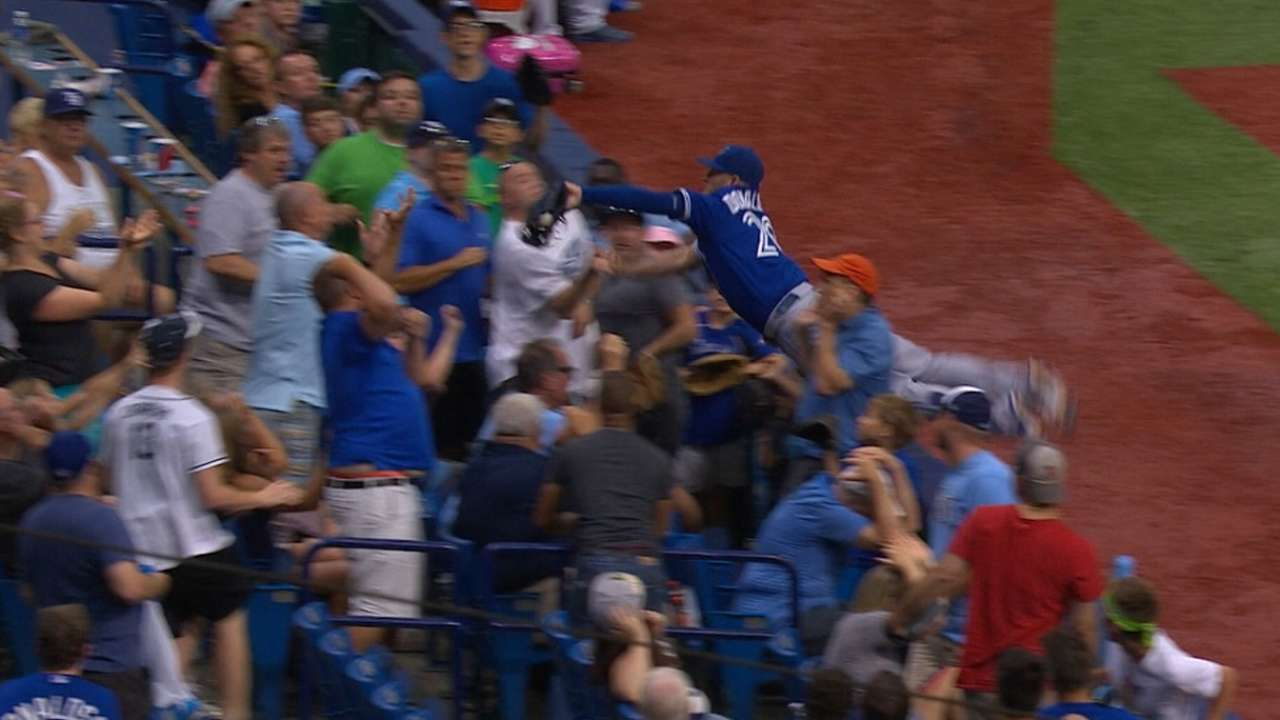 Best Play, Defense: Donaldson