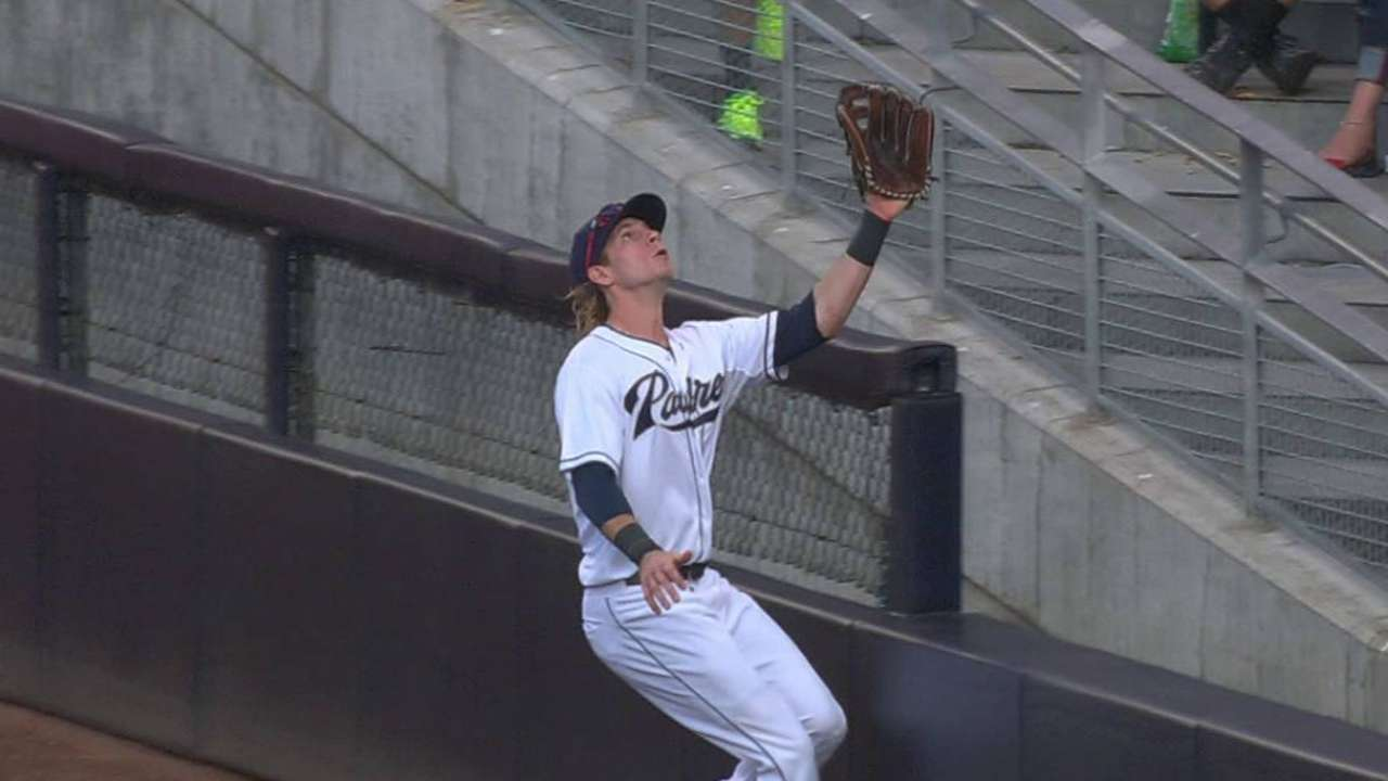 Jankowski makes tricky catch