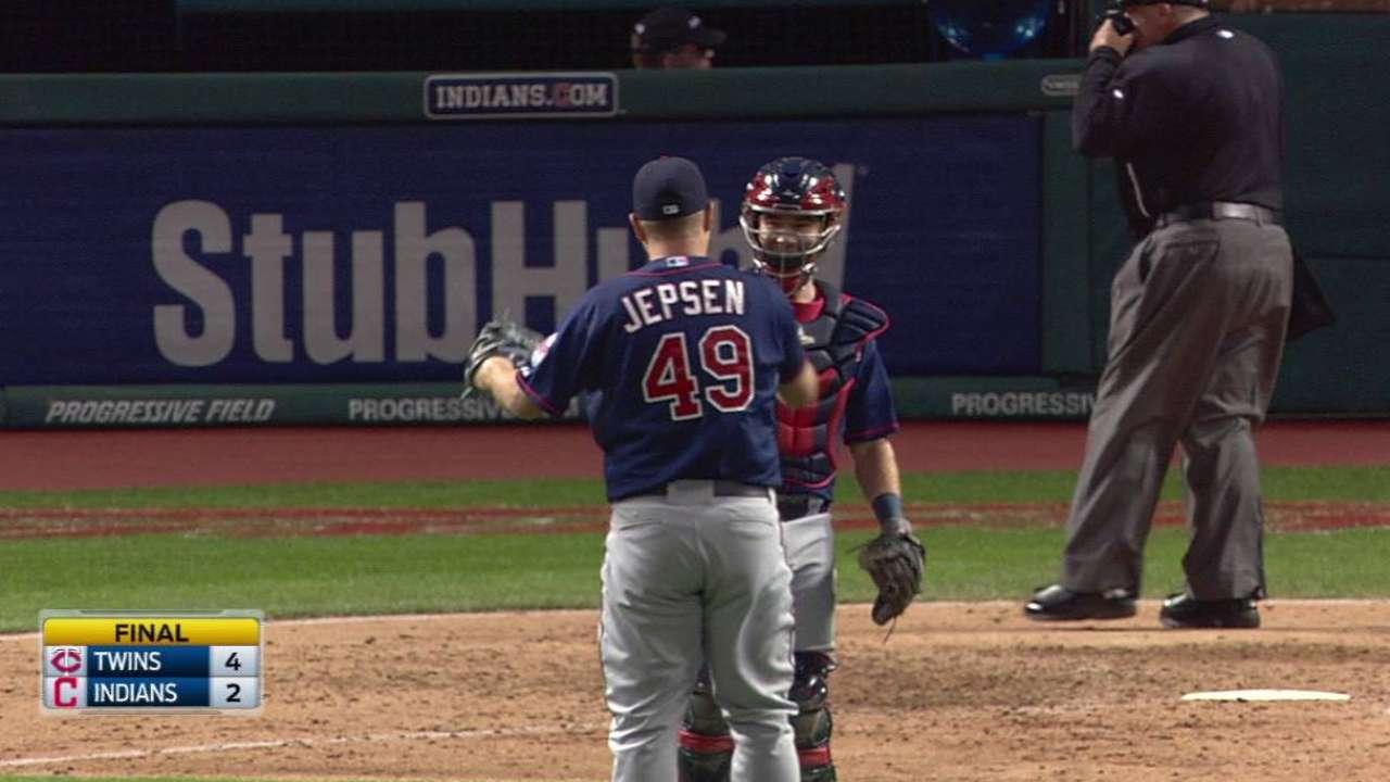 Jepsen notches the save
