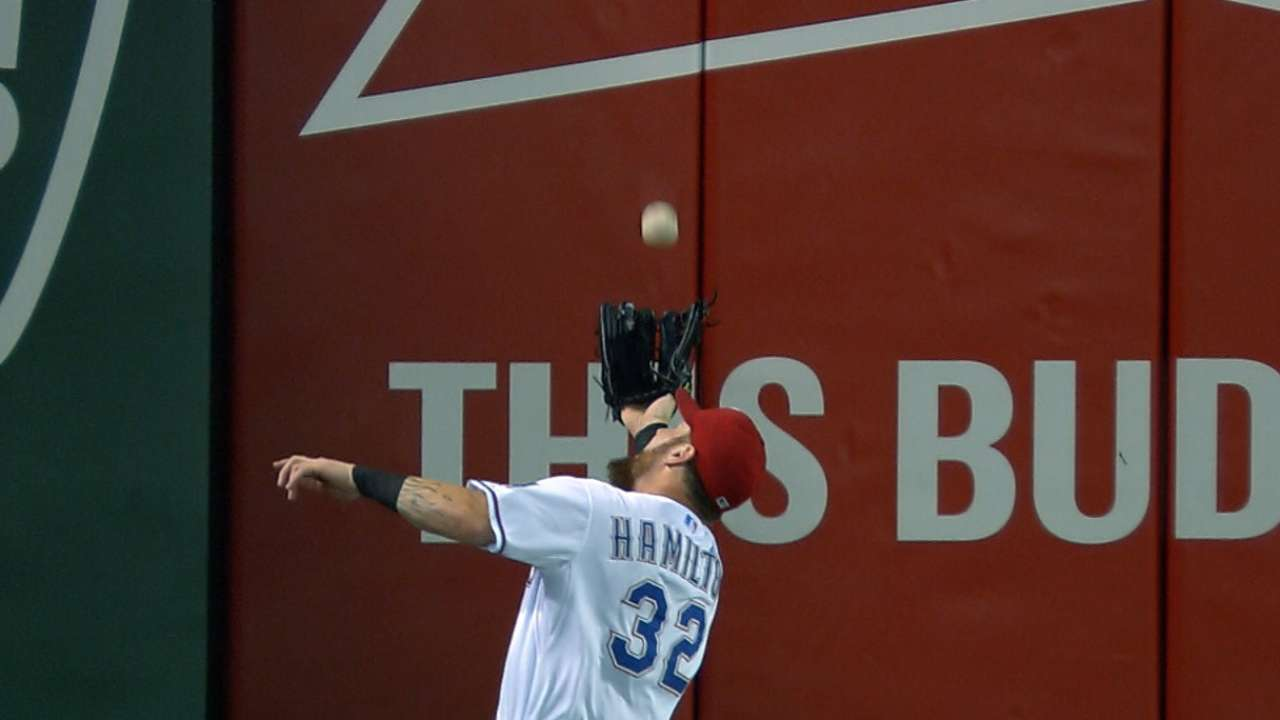 Must C: Hamilton's amazing catch