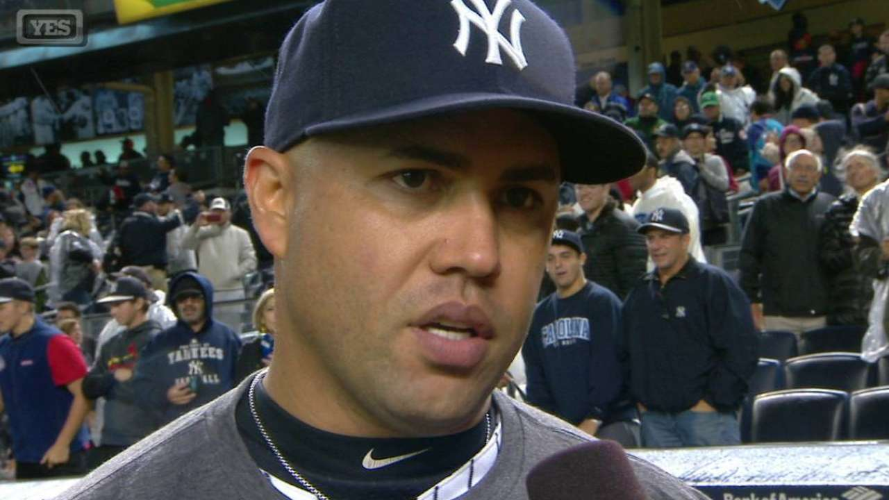 Beltran on CC, playoffs