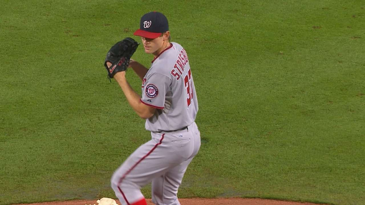 Strasburg had benign growth removed from back