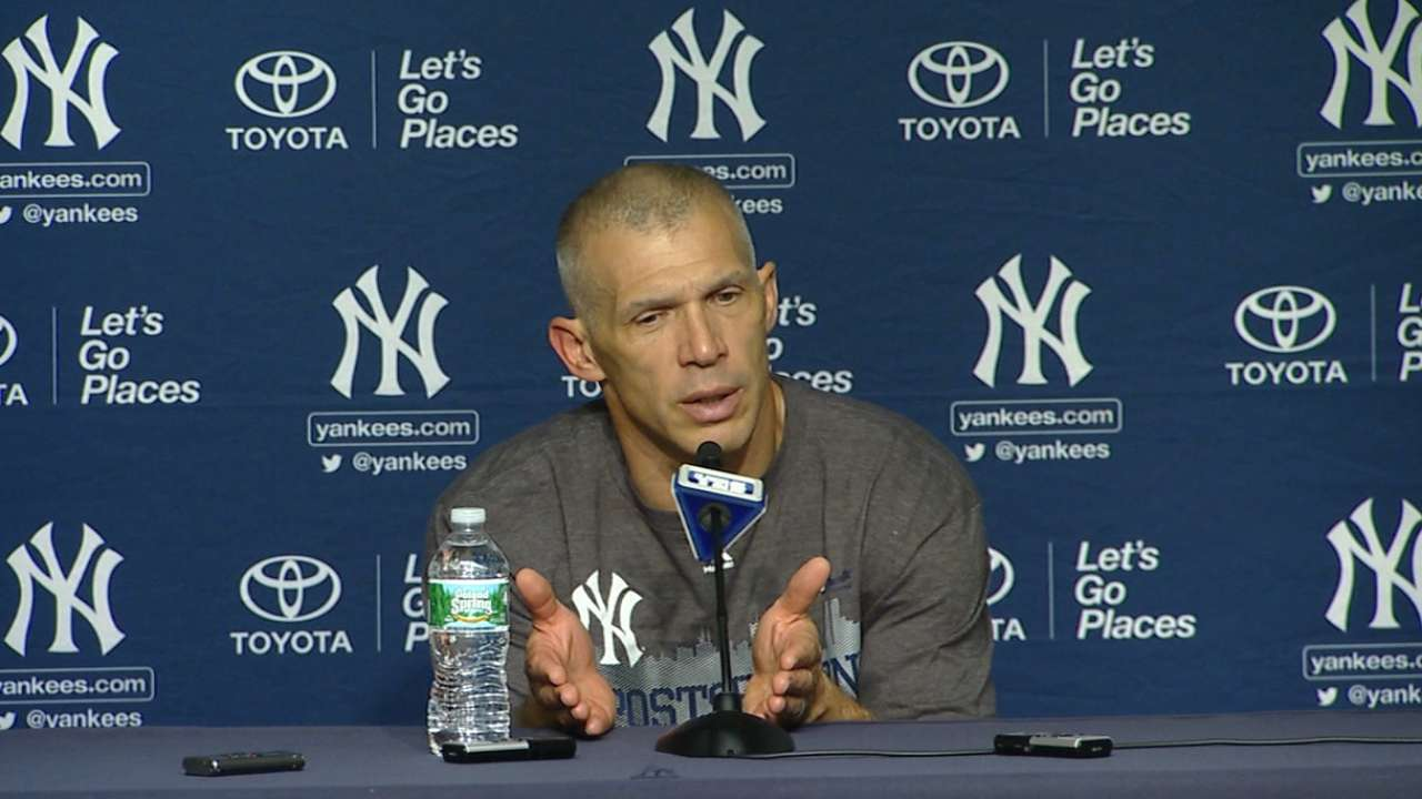 Girardi on clinching a berth