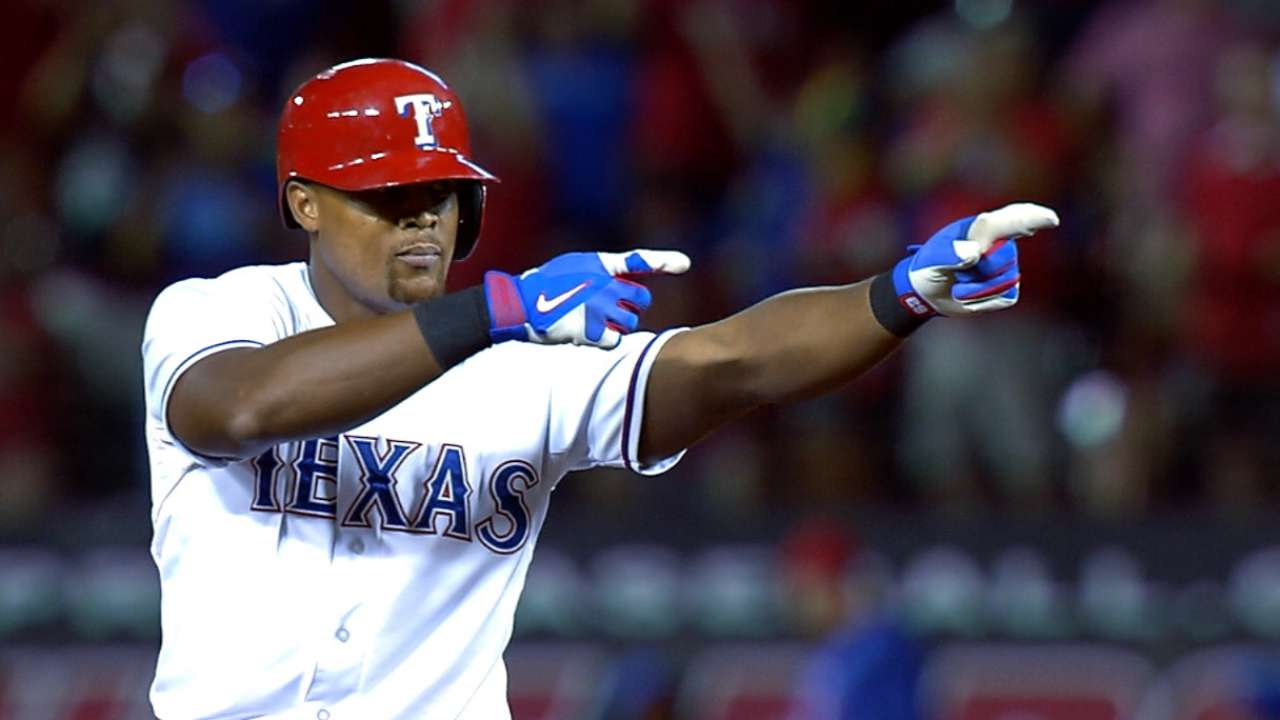 Must C: Beltre clears the bases