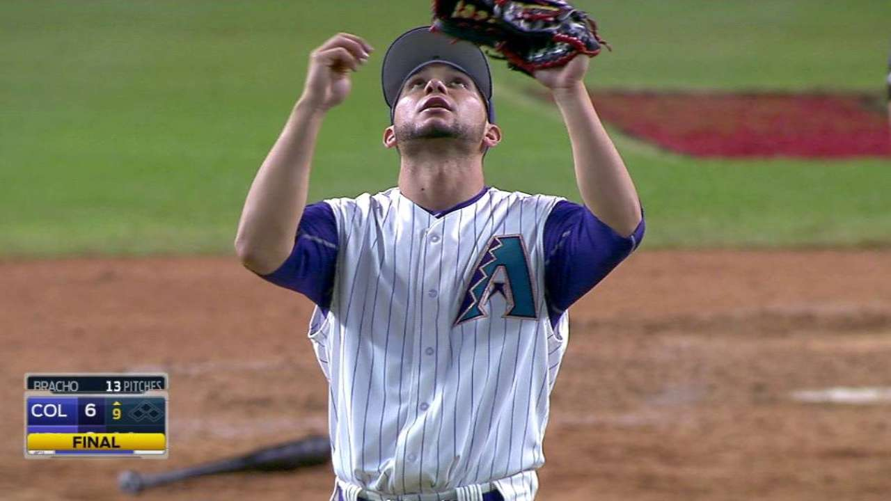 Bracho recalled, Godley optioned to Minors