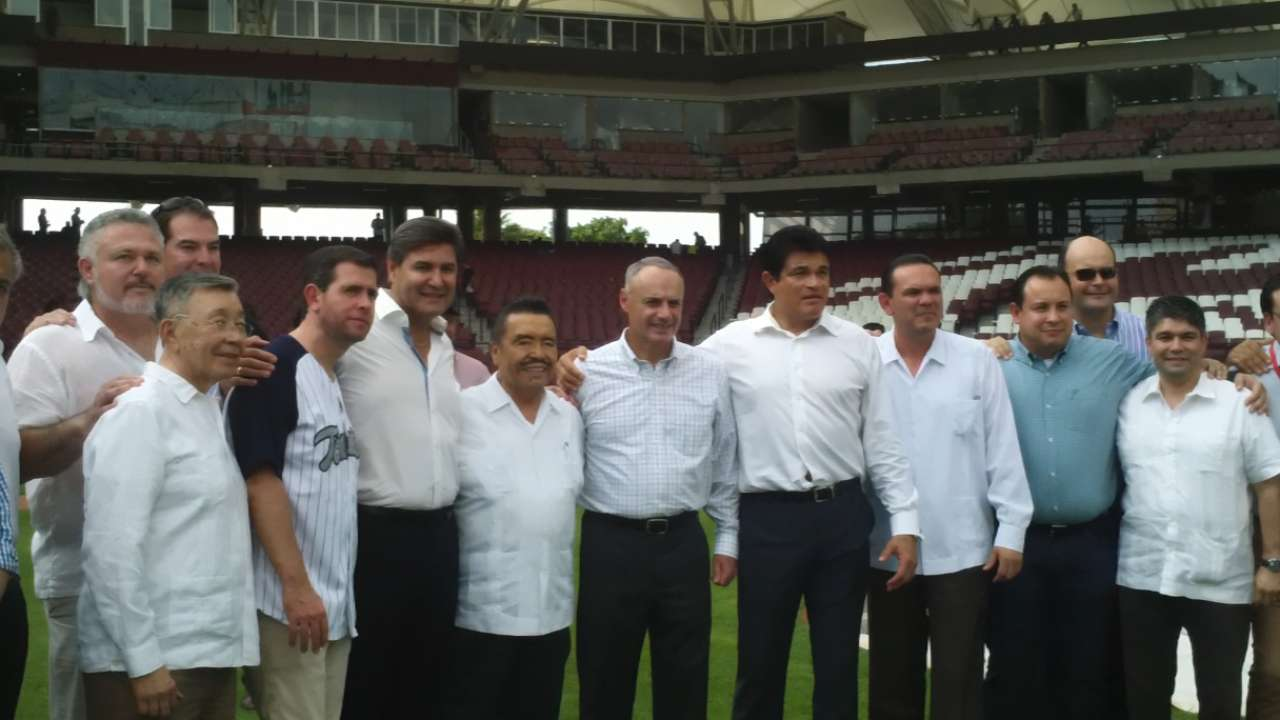 MLB working to expand Mexican presence