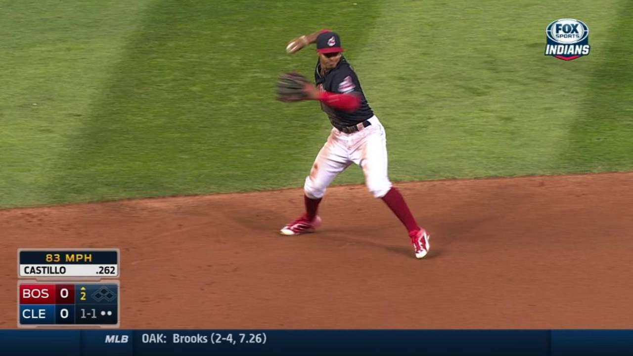 Lindor's diving play