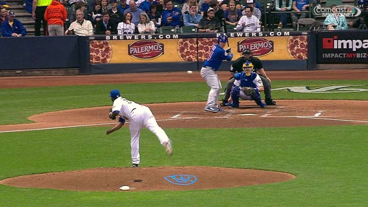 Arrieta works 6 shutout vs. Brewers for win No. 22