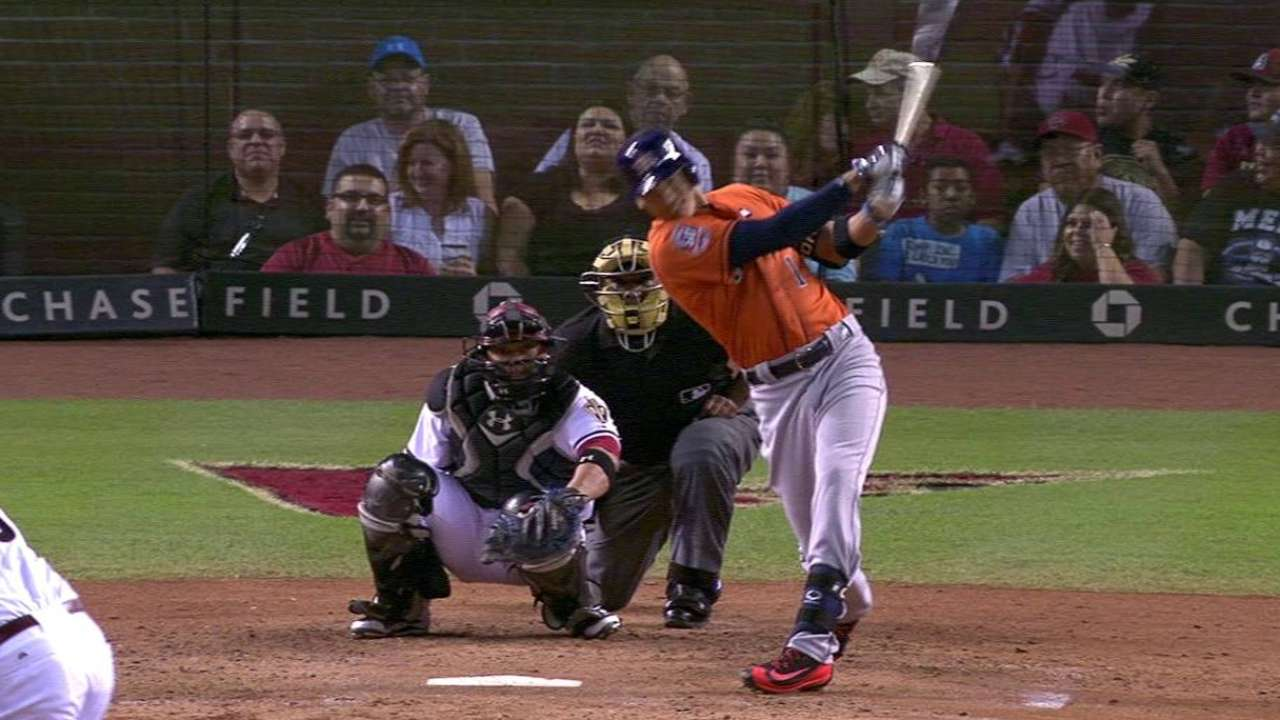 Correa homers, sets Astros mark
