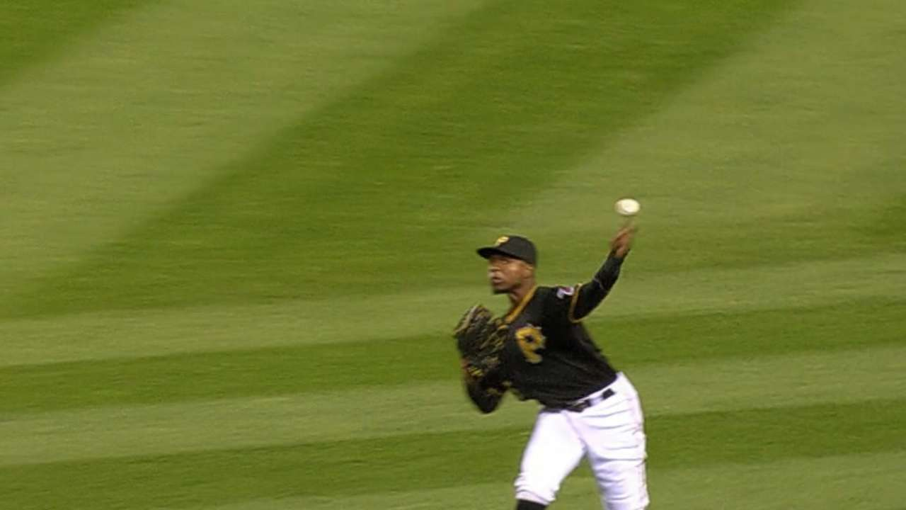 Must C: Polanco fires from right