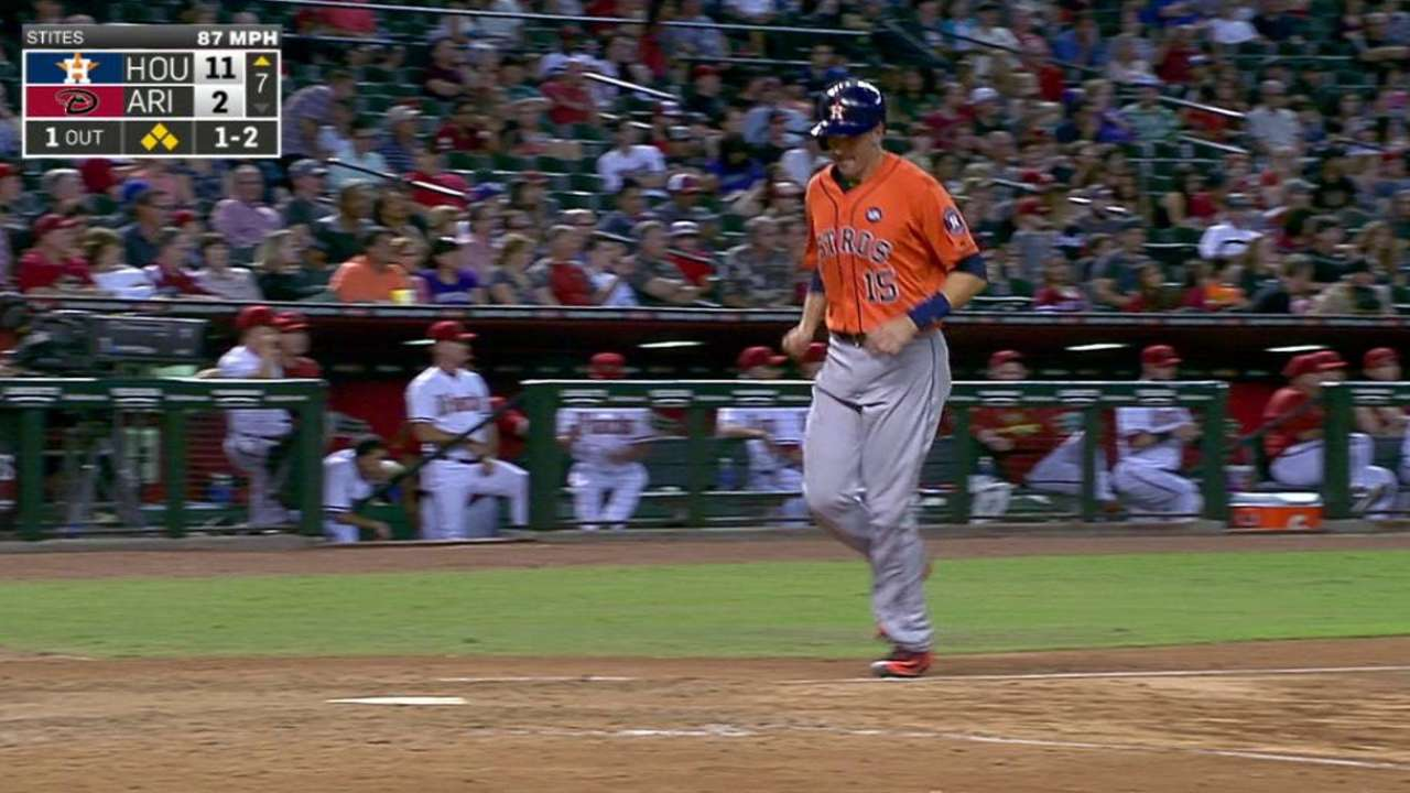 Correa's three-run triple