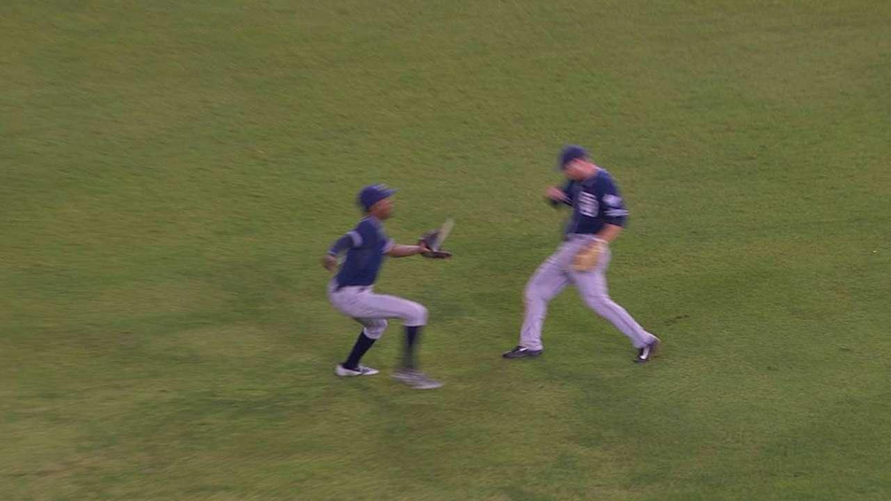 M. Upton Jr.'s tough catch