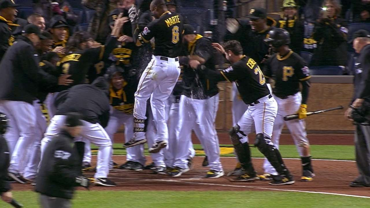 Must C: Marte's walk-off party
