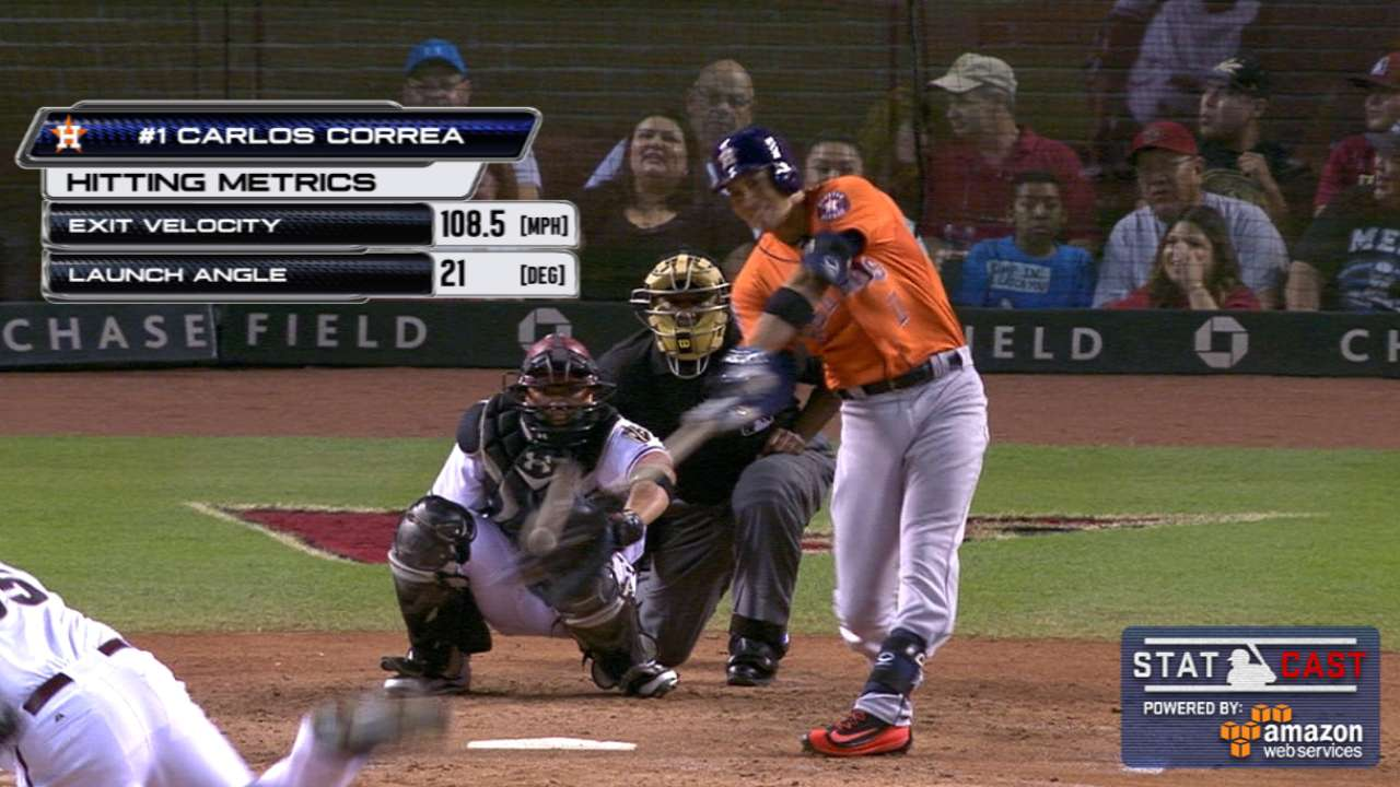 Astros, Correa enjoy record-setting night