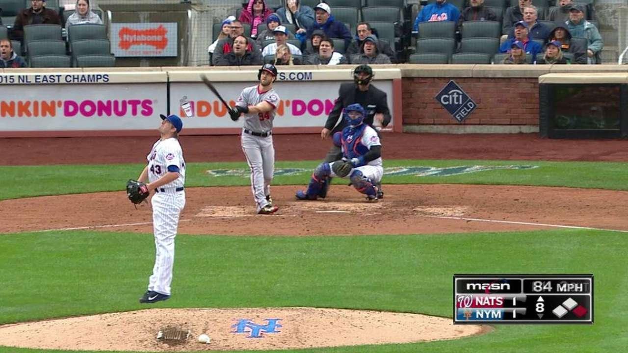 Harper y Nacionales le propinan 1er golpe a los Mets en N.Y.