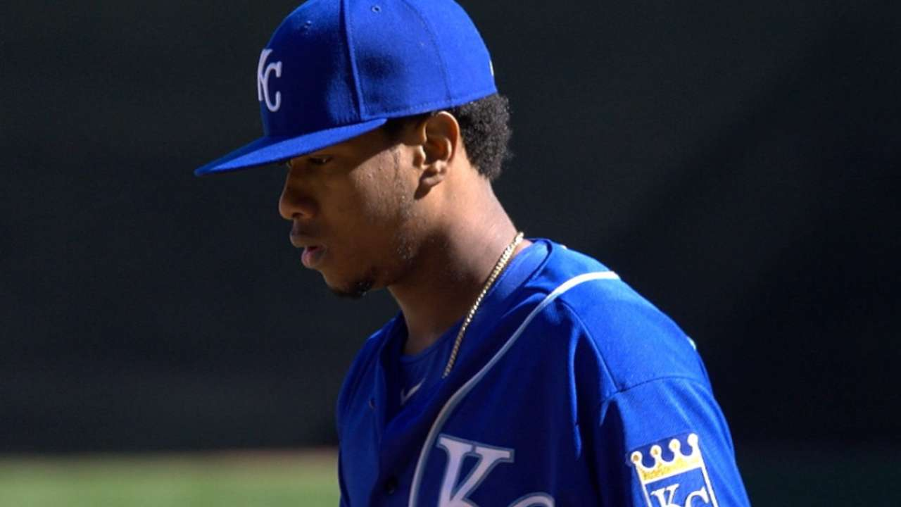 Royals tab Ventura to start Game 1 of ALDS