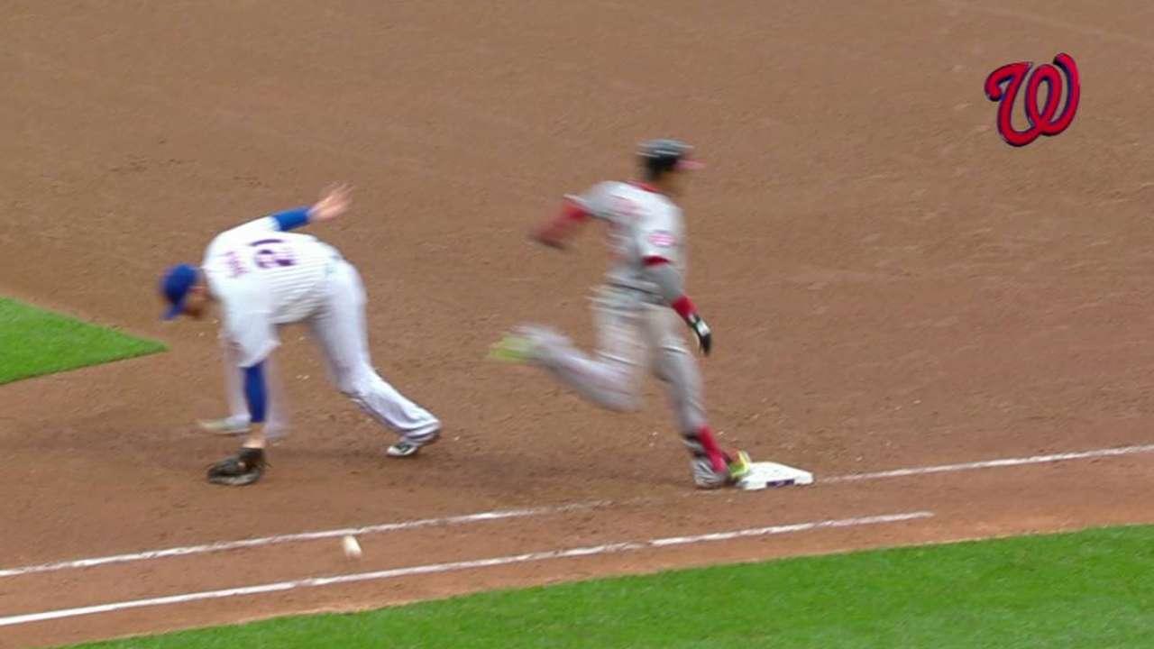 Escobar extends the inning