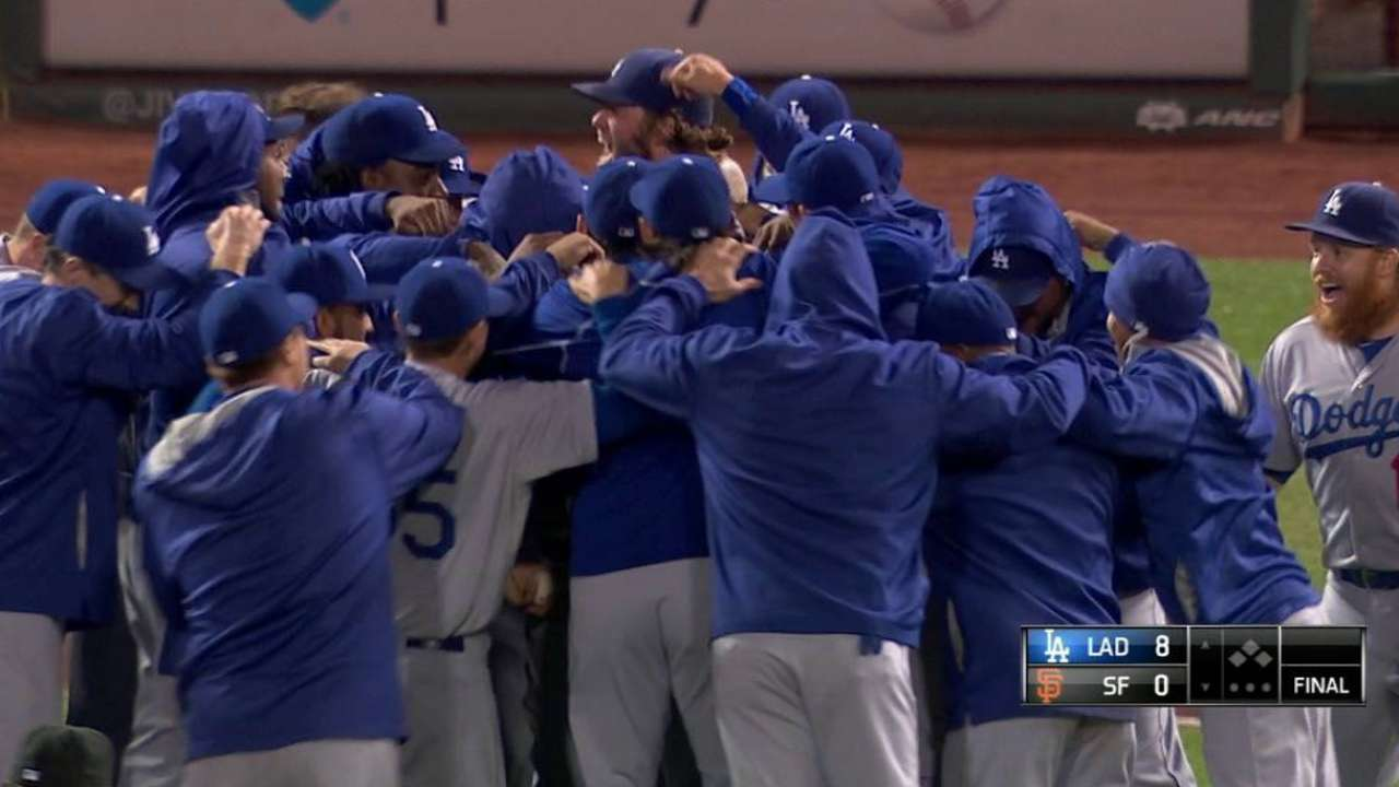 Kershaw's gem clinches NL West