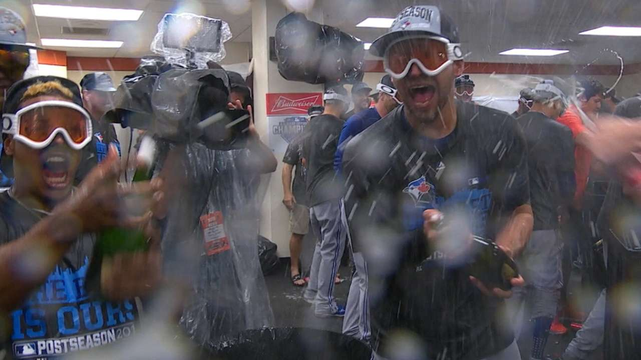 Blue Jays clinch AL East