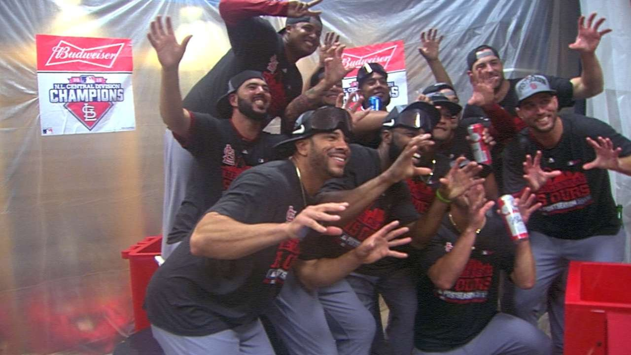 Cards await winner of Cubs-Bucs Wild Card