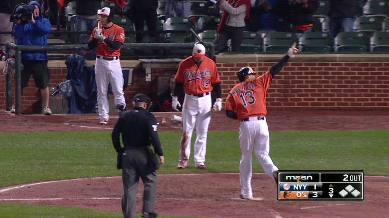 Machado's 35th homer